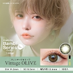 AngelColor Bambiシリーズ Vintage 1day ヴィンテージオリーブ (10枚入り)