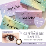 merche by AngelColor シナモンラテ(度なし)(1箱2枚入)