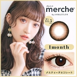 merche by AngelColor メルティーチョコレート(度なし)(1箱2枚入)