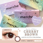 merche by AngelColor チェリーブラウン(度なし)(1箱2枚入)