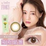 1day CaraEyes FIORY モカブルーム(10枚入り)